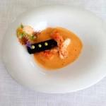 Sopa de Peixe da Costa Vicentina, Lagostim Assado e Croquete Cremoso de Ostra