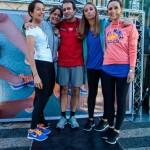 Joana Brito, da Elle, Rita Machado, da LuxWoman, André Mota, diretor de Marketing da Nike, e Margarida Almeida e Cátia Dias do blog Style It Up
