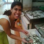 Marta no Mercado da Ribeira
