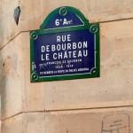 Rue de Bourbon le Chateau, Paris