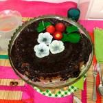 Chocolate e morangos