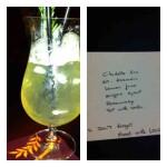 Cocktail Mrs. O Around the World