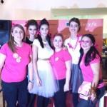 As vencedoras com os seus modelos: Diana Pereira, Maria José Duarte e Cátia Almeida