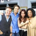 Diogo com Oprah