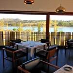 A vista do restaurante do L´And Vineyards