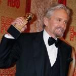 """Michael Douglas: Melhor Ator em Minissérie ou Telefilme, por """"Behind the Candelabra""""."""