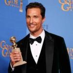 "Matthew McConaughey: Melhor Ator em Drama, por ""Dallas Buyers Club""."