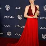 """Amy Adams: Melhor Atriz em Musical ou Comédia, por """"American Hustle""""."""