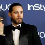 """Jared Leto: Melhor Ator Secundário em Drama, Musical ou Comédia, por """"Dallas Buyers Club""""."""