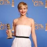 Jennifer Lawrence: Melhor Atriz Secundária em Drama, Musical ou Comédia, por 'American Hustle'.