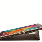 Capa Galaxy Tab S Book Cover, modo de escrita.