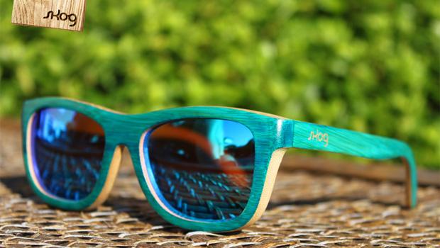 A Skog não é apenas a mais recente marca de óculos sol a nascer no mercado  nacional. Além de 100% portuguesa, é artesanal, ou seja, os seus produtos  são ... afb76fd7d8