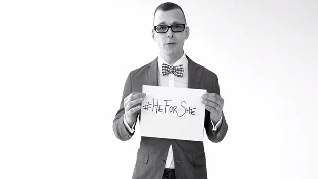 #HeForShe
