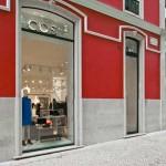 A loja COS na Avenida da Liberdade, em Lisboa.