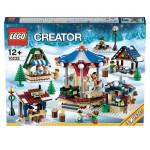 Mercado da Aldeia de Natal Lego, na Toys'R'Us, €89,95.