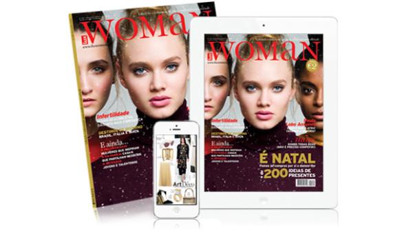 LuxWOMAN também em versão digital