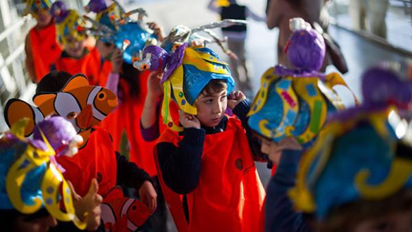 Férias de Carnaval no Oceanário
