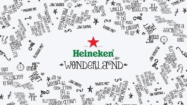 Heineken in Wonderland