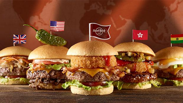 Viagem à volta do mundo em hambúrgueres