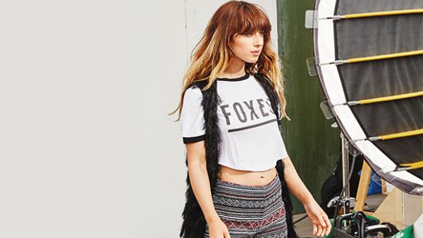 Foxes é o novo rosto da H&M