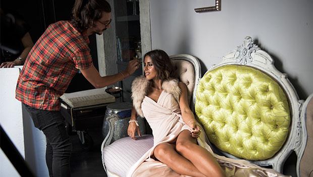 Making of capa novembro 2015 com Carolina Patrocínio