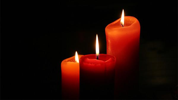 Uma noite à luz das velas…