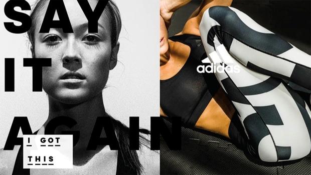 As guerreiras da Adidas