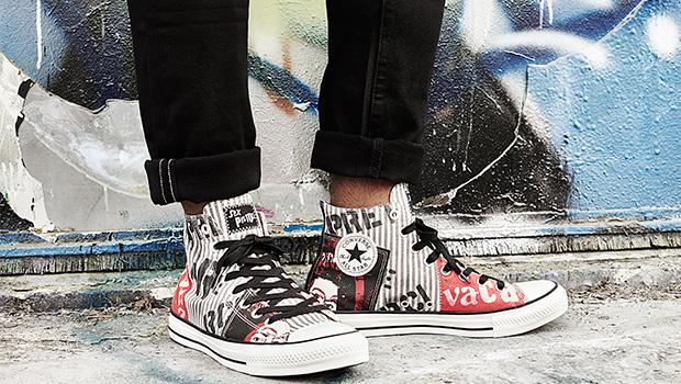 A revolta do punk ao jeito da Converse