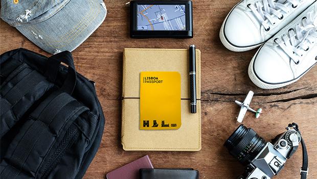 Conhecer Lisboa de passaporte na mão