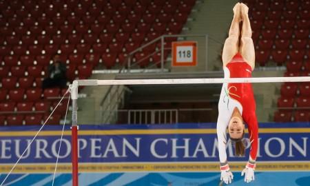 Ginasta portuguesa nos Jogos Olímpicos