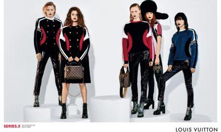 Selena Gomez para a Louis Vuitton