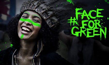 #faceforgreen