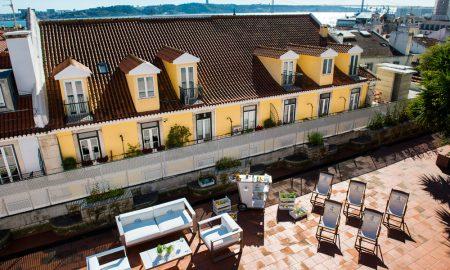 Med rooftops em Lisboa