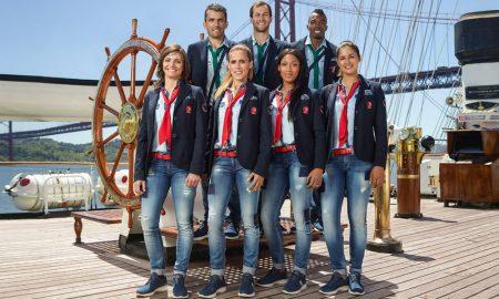Salsa veste atletas nos Jogos Olímpicos do Rio 2016