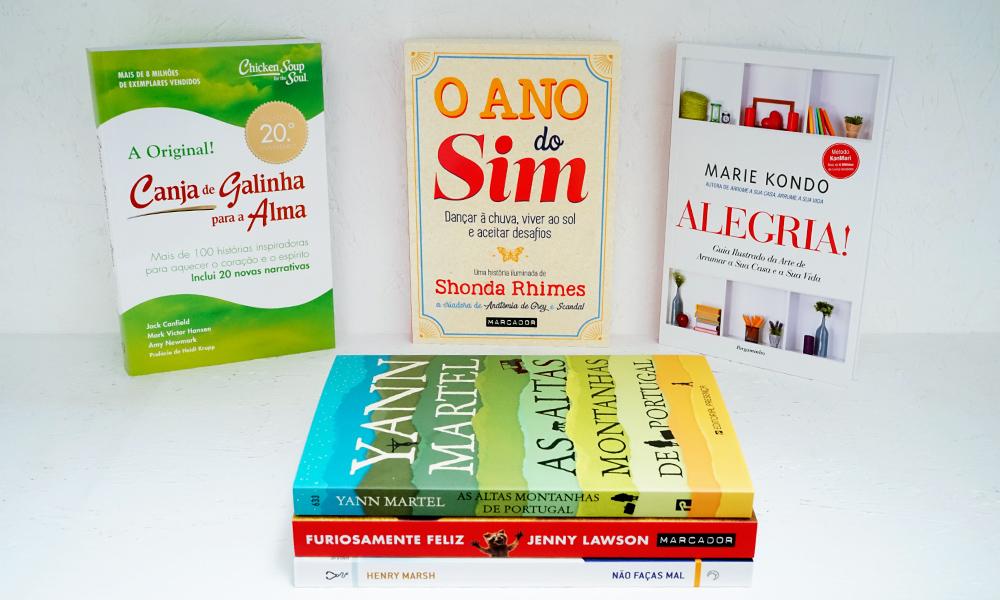Livros com energia positiva