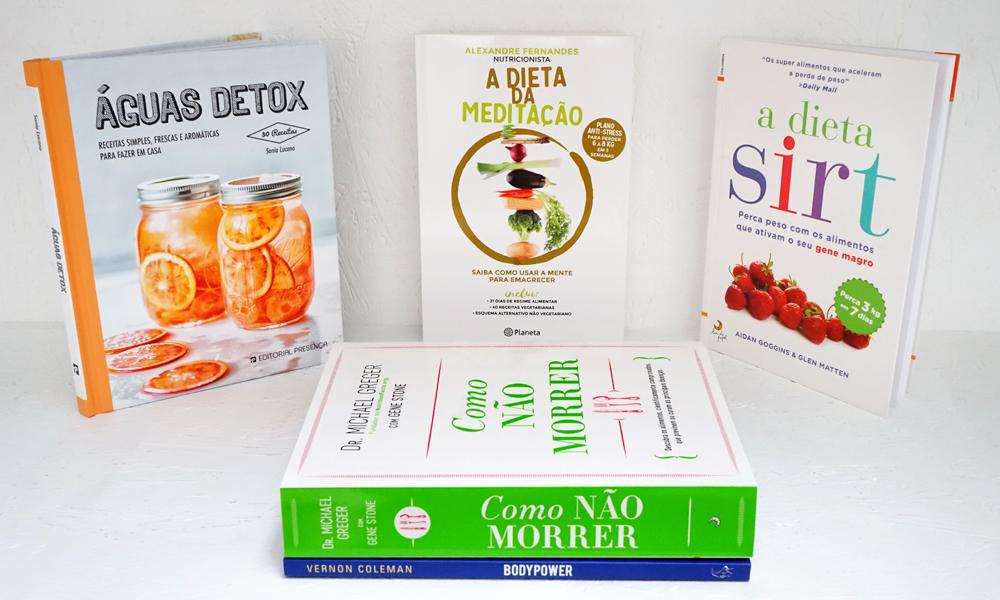 Livros para uma vida saudável