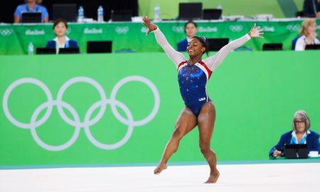 o fenómeno Simone Biles, ginasta Jogos Olímpicos Rio 2016