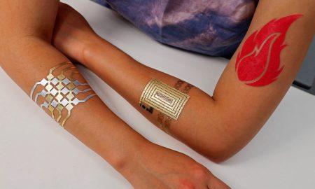 tatuagens inteligentes - DuoSkin
