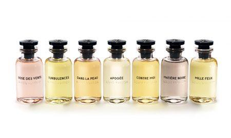 A rota dos aromas Louis Vuitton