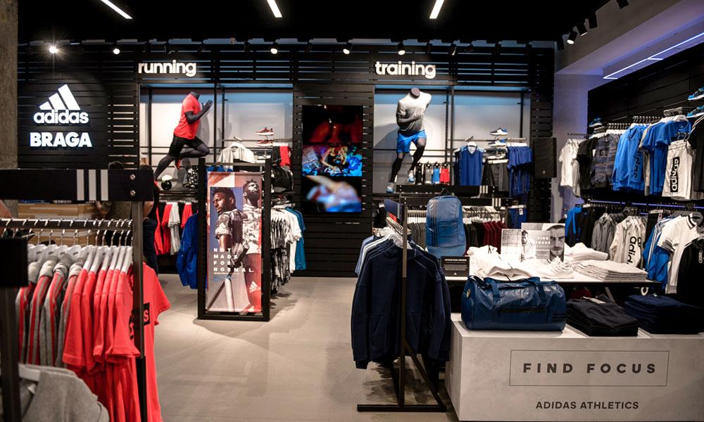 cubrir juego Inmigración  Nova loja Adidas em Braga – LuxWOMAN