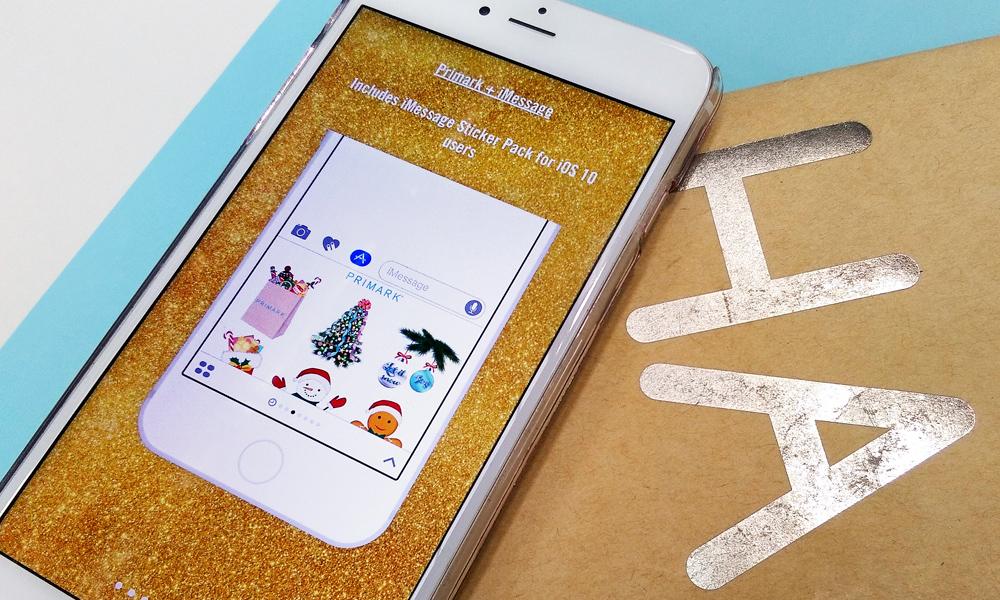 Primark lança emojis natalícios