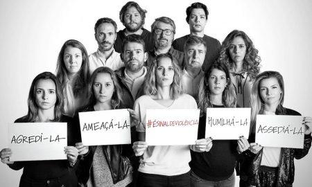 Campanha #ésinaldeviolência
