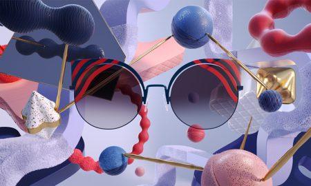 Os óculos de sol que hipnotizam