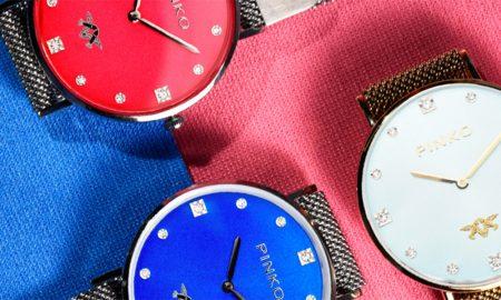 pinko estreia-se nos relógios
