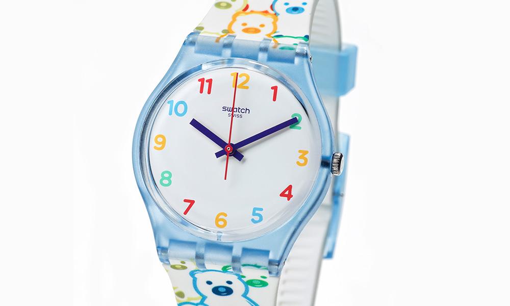376e7fa9502 A Swatch acaba de lançar o Swatch Docinho