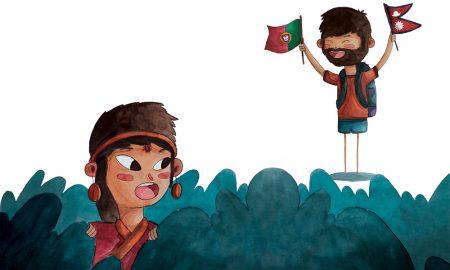 Ajudar 'A Aldeia da Esperança' no Nepal