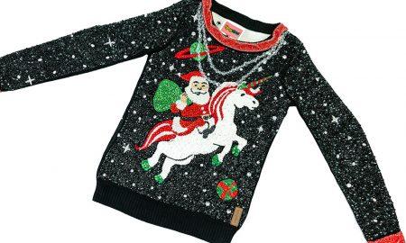 A camisola de Natal que está a dar que falar