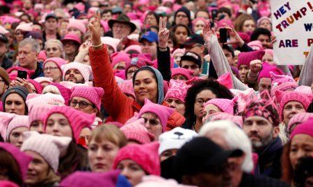 A volta ao mundo na 'Marcha das Mulheres'