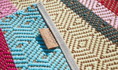 O primeiro tapete de cortiça feito em tear. É português, claro.