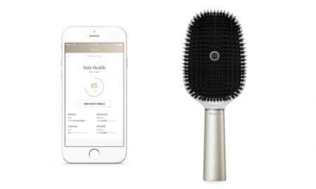 escova de cabelo inteligente